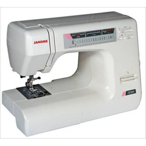 Швейная машина JANOME 7518A - Интернет-магазин