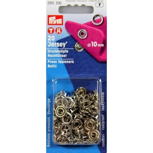 Пополняемая упаковка для кнопок Джерси, 10 мм PRYM 390106 - Интернет-магазин