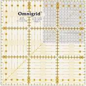 Линейка-квадрат с сантиметровой шкалой 15х15 см PRYM 611306
