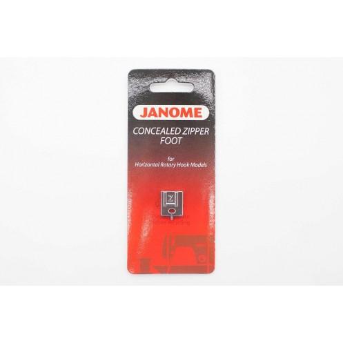 Лапка  для вшивания потайной молнии JANOME 200333001 - Интернет-магазин