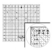 Линейка-квадрат для пэчворка 16х16см DONWEI M1616