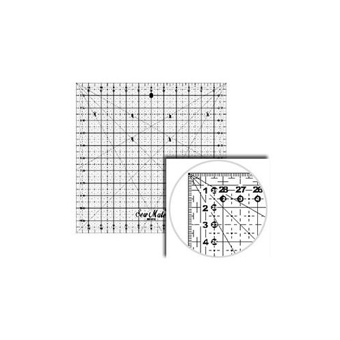 Линейка-квадрат для пэчворка 16х16см DONWEI M1616 - Интернет-магазин