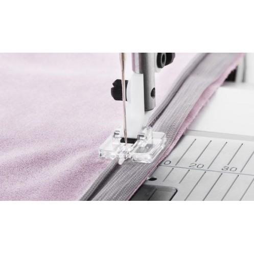 Прозрачная лапка Husqvarna для вшивания потайной молнии HUSQVARNA 413 28 65-45 - Интернет-магазин
