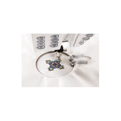 Мини пяльцы с пружиной (40х40 мм) HUSQVARNA 412 57 39-01 - Интернет-магазин