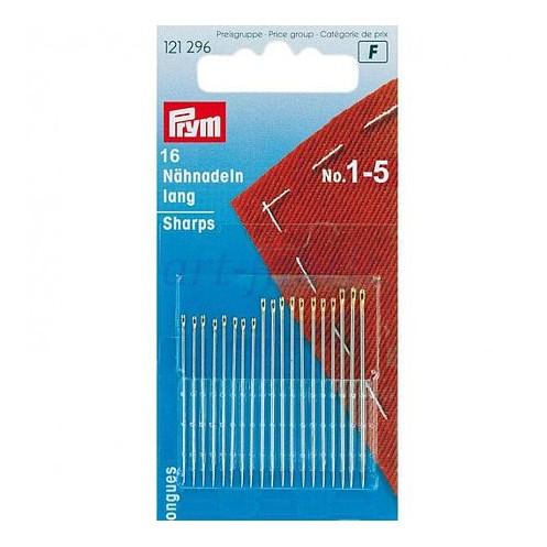 Швейные ручные иглы №1-5 PRYM PRYM 121296 - Интернет-магазин