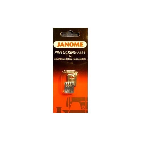 Набор  из двух лапок для 5 и 7 защипов JANOME 200317009 - Интернет-магазин