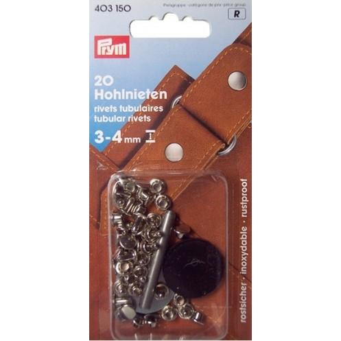 Клёпки с отверстием 3-4 мм  PRYM 403150 - Интернет-магазин