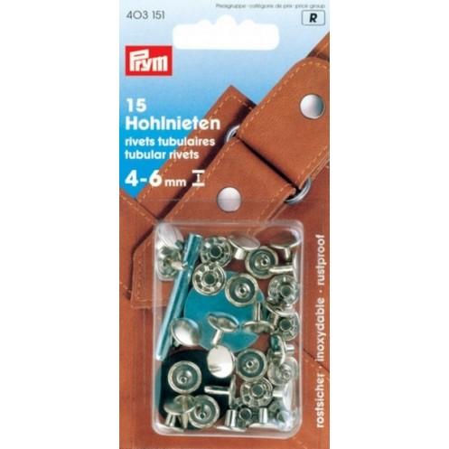 Клёпки с отверстием 4-6 мм PRYM 403151 - Интернет-магазин
